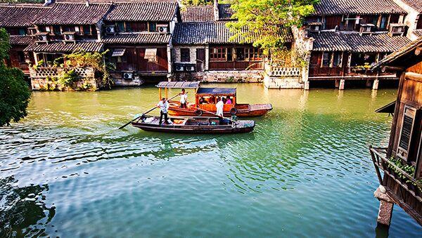 Wuzhen Water Town, Hangzhou  - Sputnik Italia