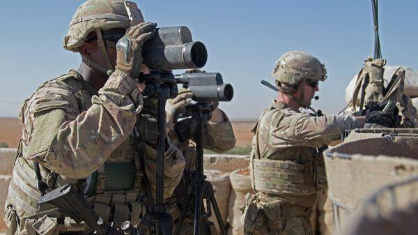 I soldati americani in Siria - Sputnik Italia