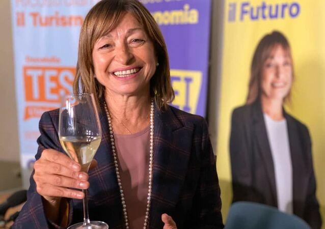 Donatella Tesei (Lega), neoeletta governatrice della regione Umbria