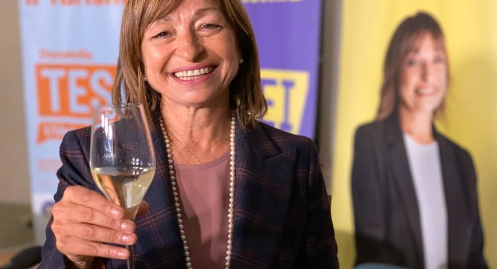 Donatella Tesei presidente regione Umbria