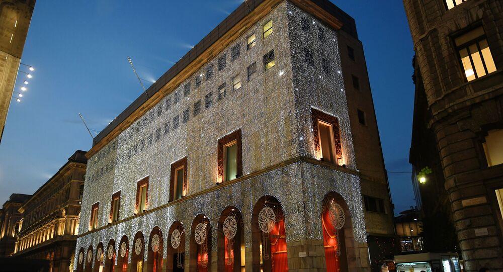 Addobbi natalizi a Milano