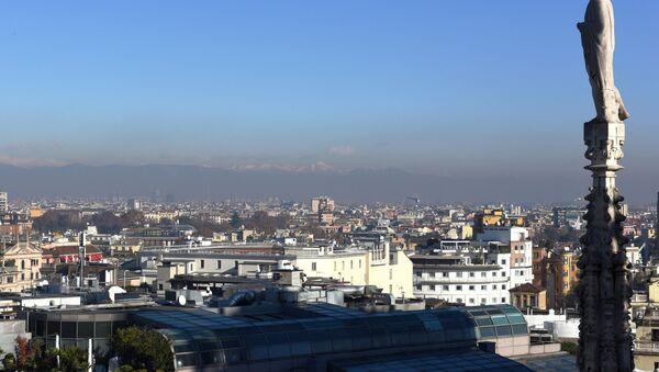 Una vista di Milano dal tetto del Duomo - Sputnik Italia