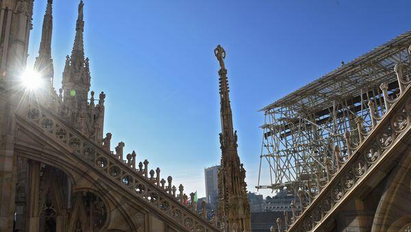 Le guglie del Duomo di Milano - Sputnik Italia