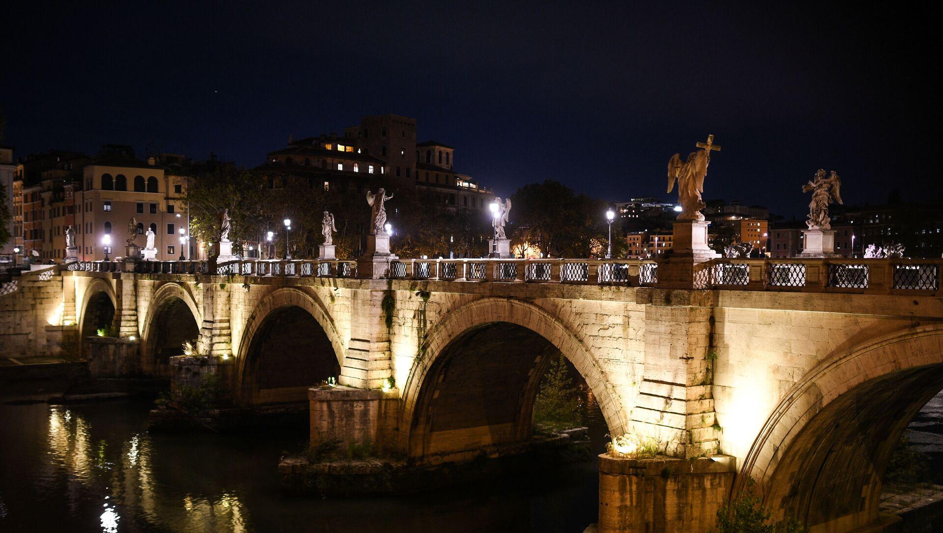 Ponte Sant'Angelo a Roma - Sputnik Italia, 1920, 14.02.2021