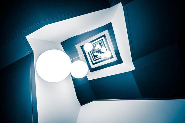 La foto 'Deep Blue' presentata dal fotografo tedesco Frank Seltmann al concorso delle migliori foto del mondo #Blue2019  - Sputnik Italia