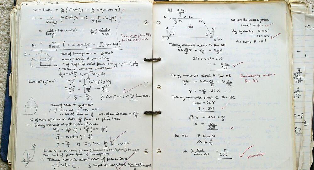 Quaderno di matematica
