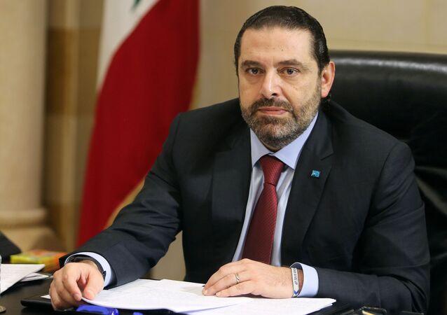 Primo ministro libanese Saad Hariri