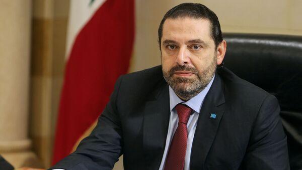 Primo ministro libanese Saad Hariri - Sputnik Italia