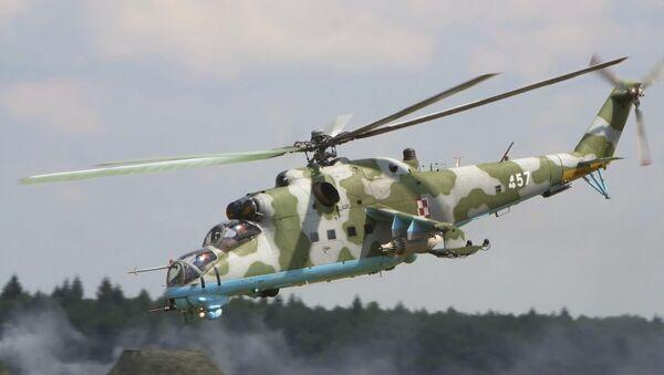 Elicottero Mi-24 dell'aeronautica militare polacca - Sputnik Italia