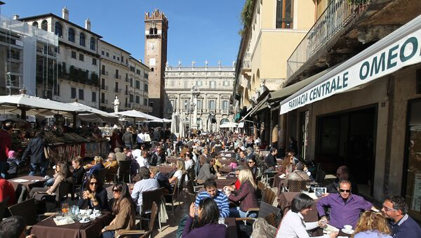Verona, piazza delle Erbe - Sputnik Italia
