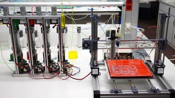 Il prototipo della biostampante 3D che può generare pelle umana - Sputnik Italia