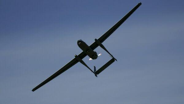 Il drone Heron TP delle forze di difesa israeliane - Sputnik Italia
