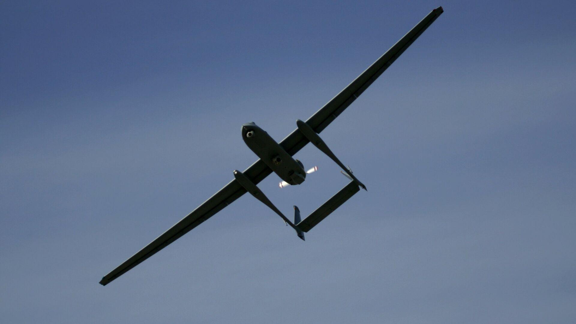 Il drone Heron TP delle forze di difesa israeliane - Sputnik Italia, 1920, 22.06.2021