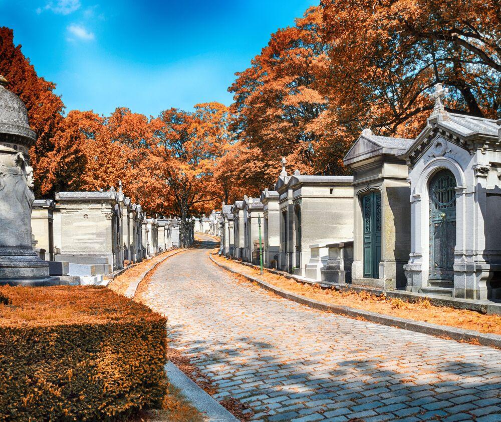 Il Cimitero Père Lachaise, Parigi (Francia)