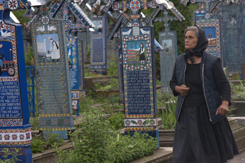 Il Cimitero Allegro, Săpânța (Romania)