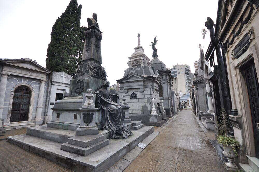 Il Cimitero della Recoleta a Buenos Aires (Argentina)