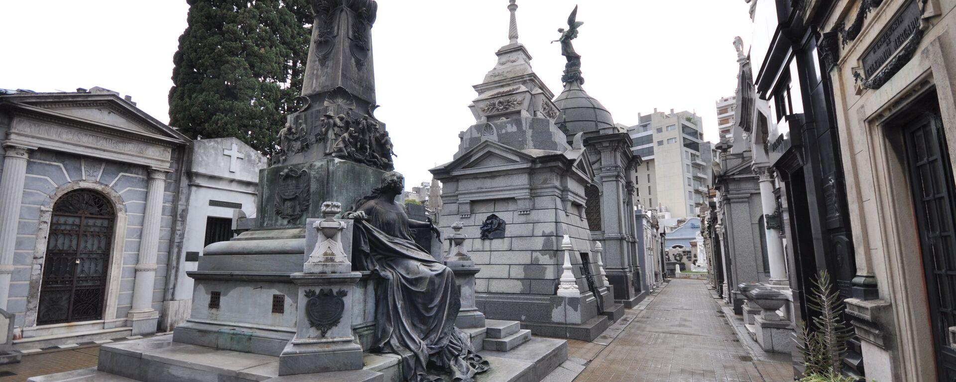 Un cimitero in Argentina - Sputnik Italia, 1920, 02.08.2021