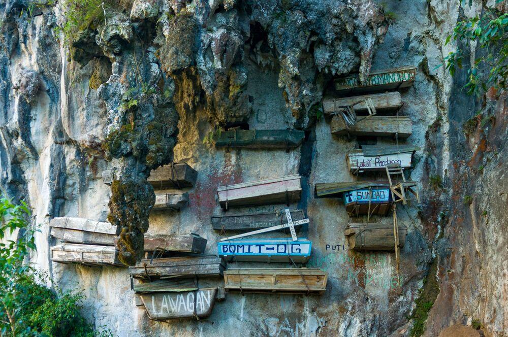 Le bare sospese di Sagada, Filippine