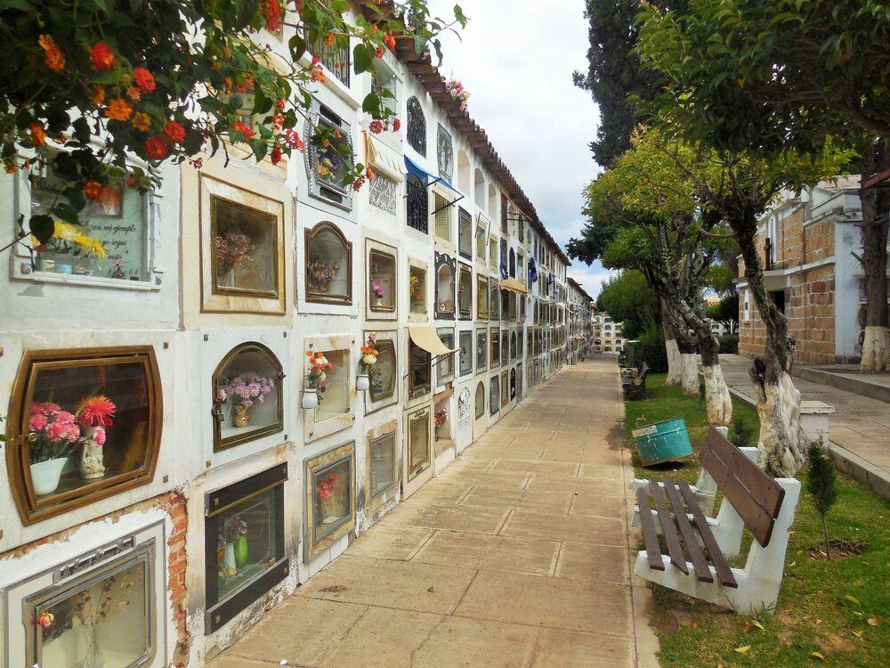 Il Cimitero Municipale di Sucre è il più prestigioso сimitero in Bolivia