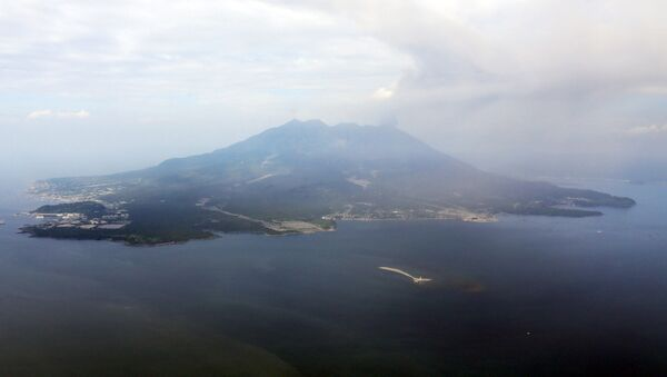 La montagna Sakurajima, Giappone - Sputnik Italia