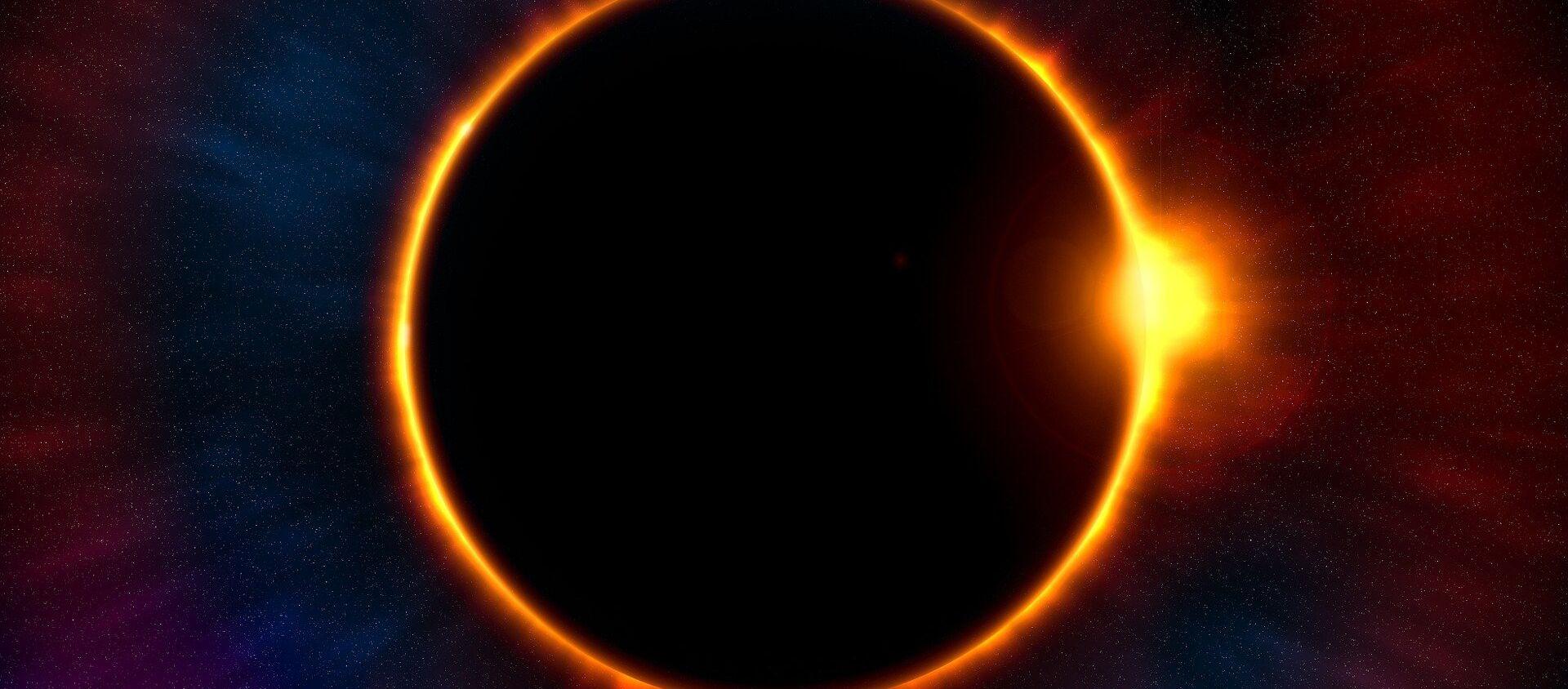 Eclissi solare - Sputnik Italia, 1920, 17.06.2020
