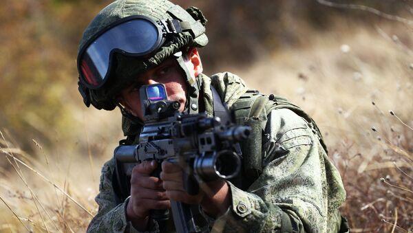 Un soldato russo - Sputnik Italia