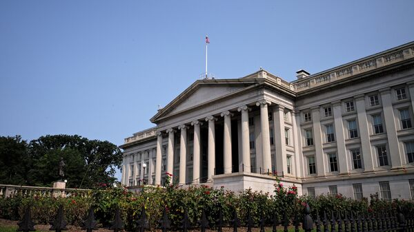 Il Dipartimento del Tesoro USA - Sputnik Italia