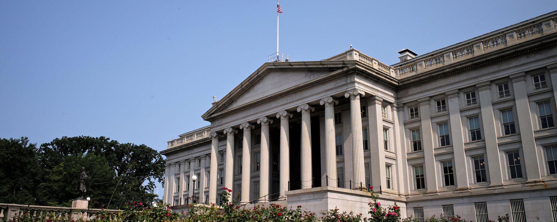 Il Dipartimento del Tesoro USA - Sputnik Italia, 1920, 02.04.2021