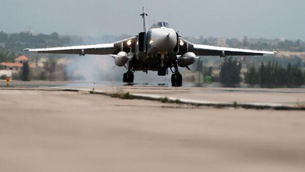 Su-24 dell'aeronautica siriana - Sputnik Italia