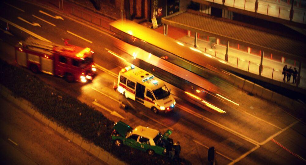 Hong Kong  ambulanza