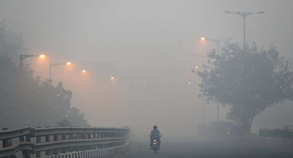 Nuova Delhi inquinamento
