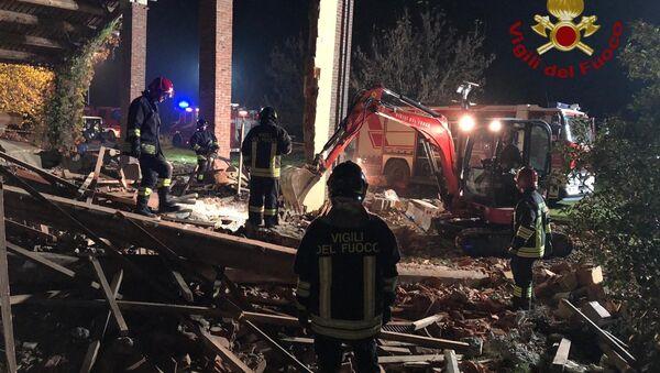 Esplosione a Quargnento, Alessandria - Sputnik Italia