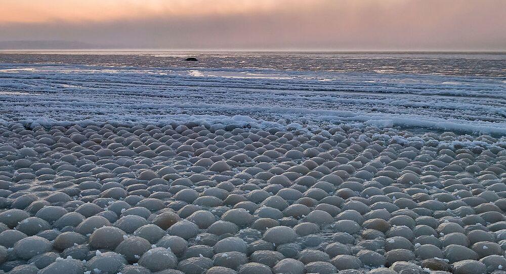 Spiaggia delle uova in Finlandia