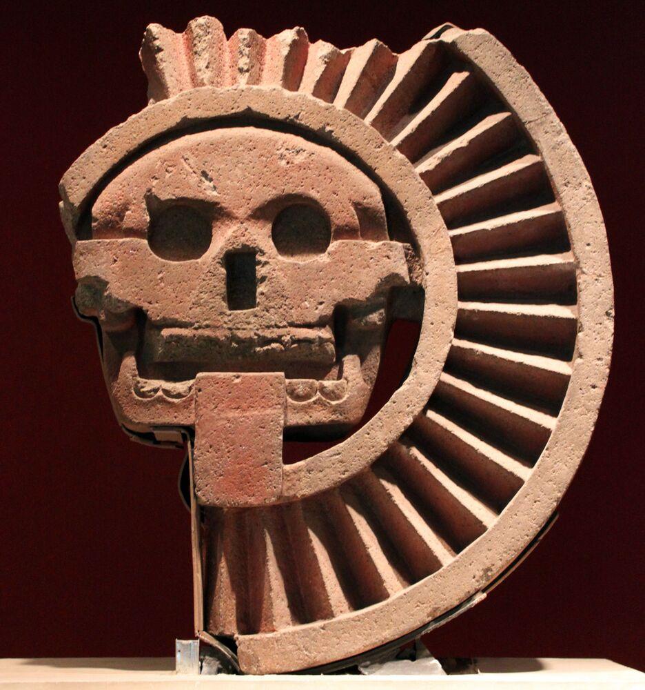 Mictlanteculhtli era il dio azteco dei morti