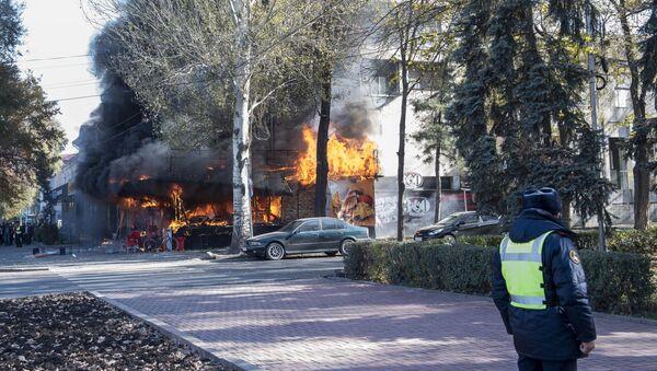 Tre esplosioni dentro un bar a Bishkek - Sputnik Italia
