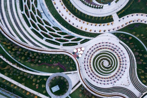 Il parco nella città russa di Krasnodar, vincitore degli Urban Parks Awards - Sputnik Italia