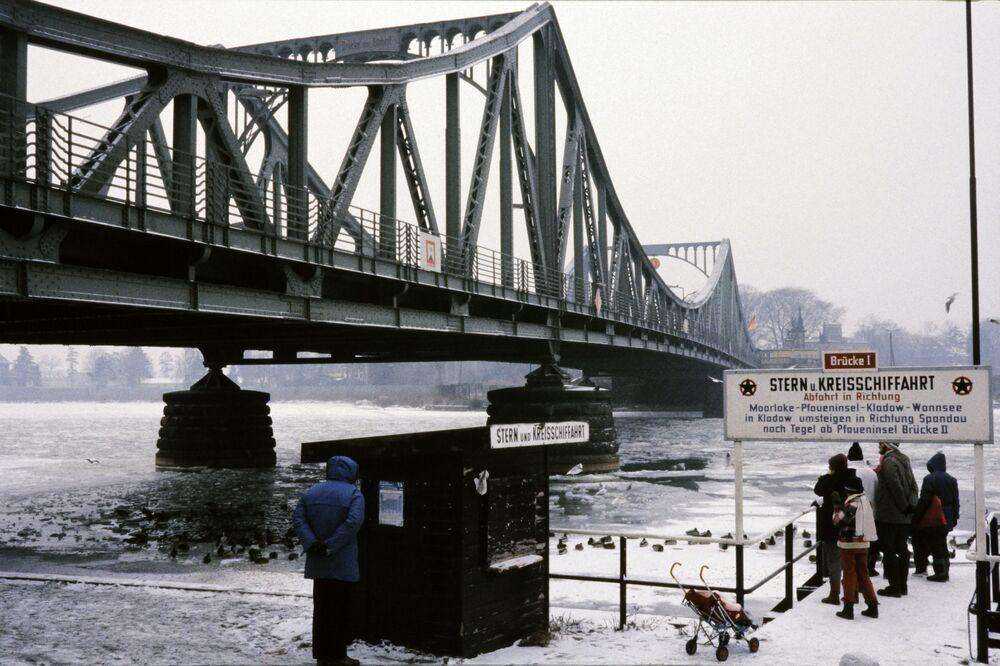 La vista sul ponte delle spie Glienicke