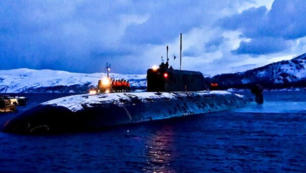 Il sottomarino Nizhny Novgorod - Sputnik Italia