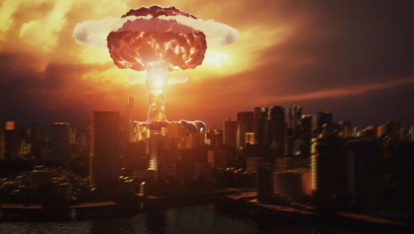 L'esplosione di una bomba nucleare - Sputnik Italia