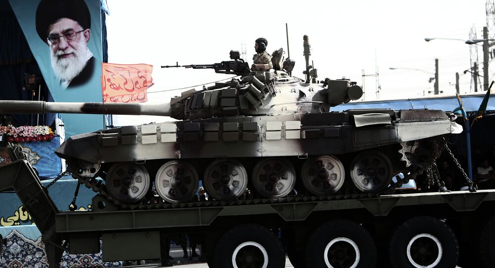 Le forze iraniane