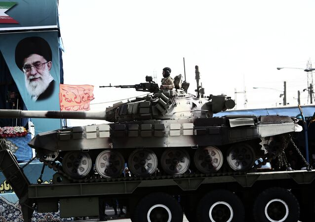 Carro armato iraniano (foto d'archivio)