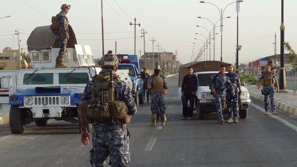 Le forze di Sicurezza irachene nei pressi di Kirkuk  - Sputnik Italia