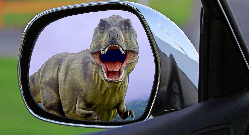 Dinosauro - composizione artistica