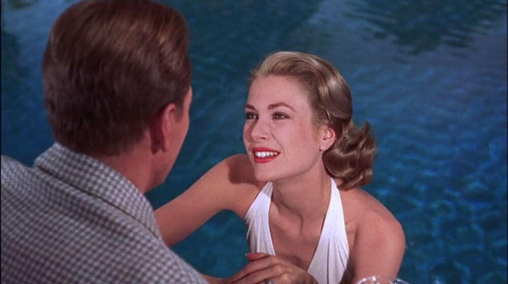 L'attrice americana Grace Kelly nel film Alta società, 1956