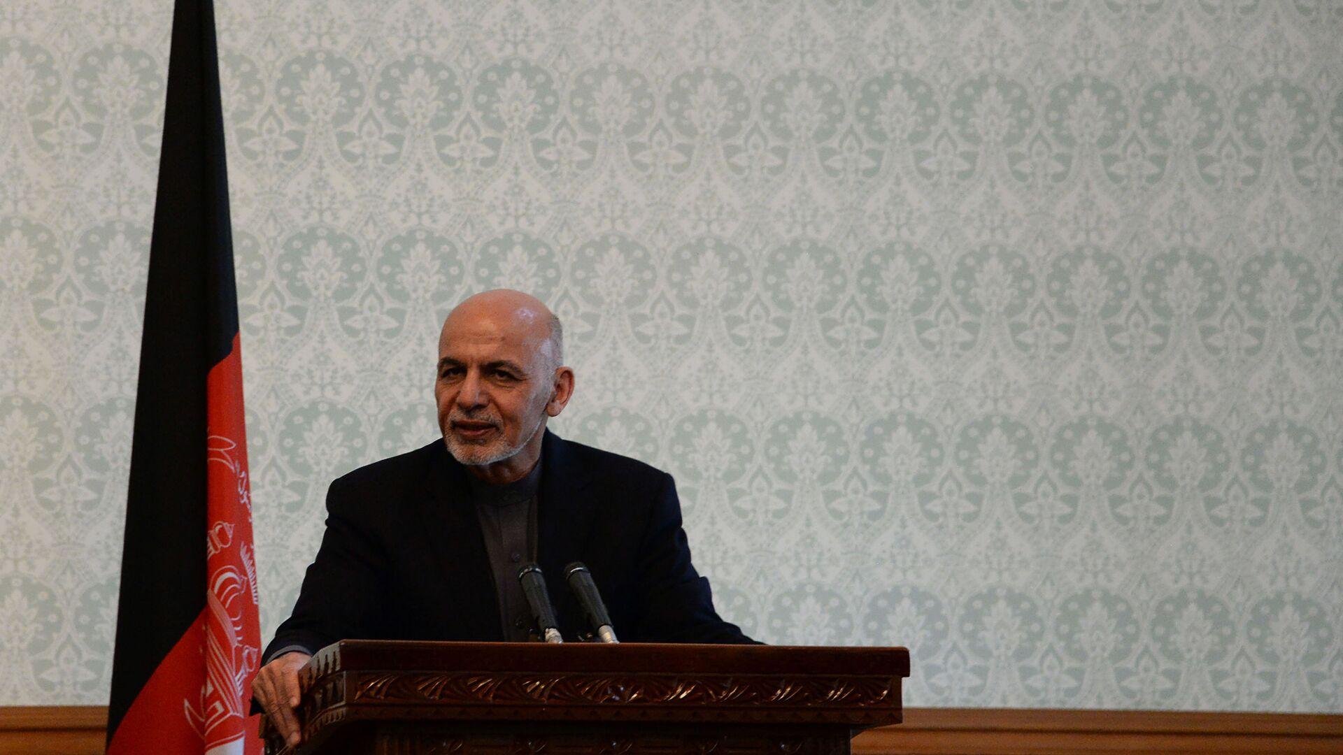Presidente dell'Afghanistan Ashraf Ghani - Sputnik Italia, 1920, 14.08.2021
