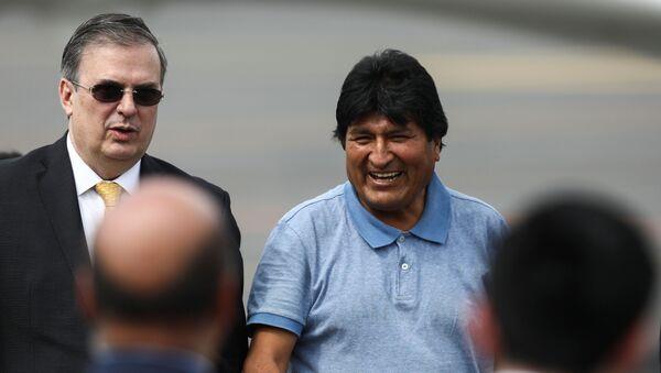 Evo Morales arrivato nel Messico - Sputnik Italia