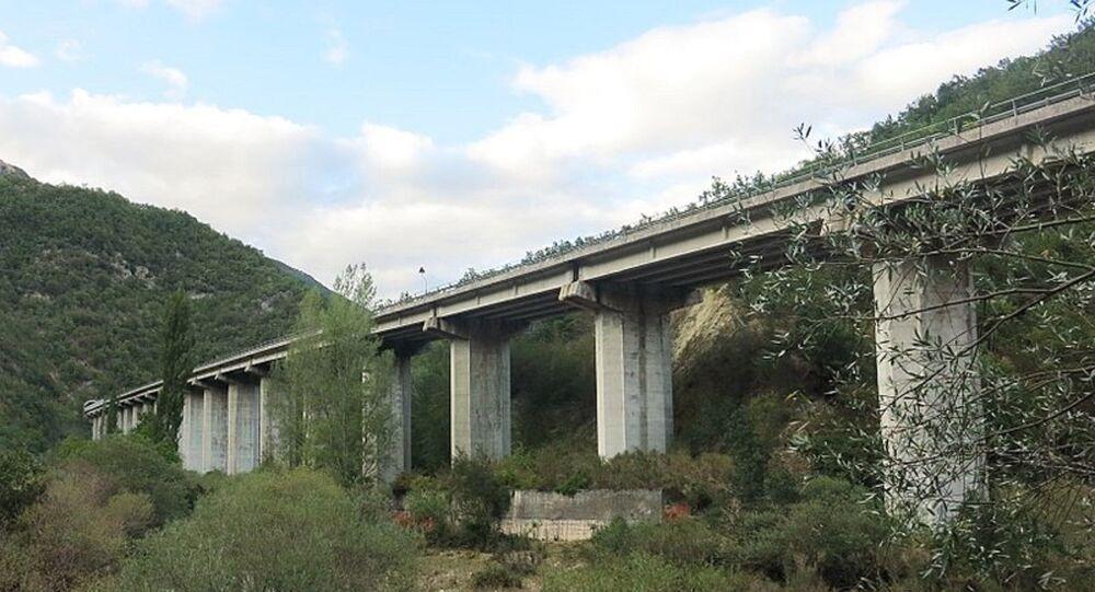 Viadotto Velino, in provincia di Rieti