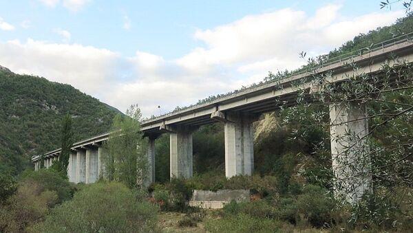 Viadotto Velino, in provincia di Rieti - Sputnik Italia