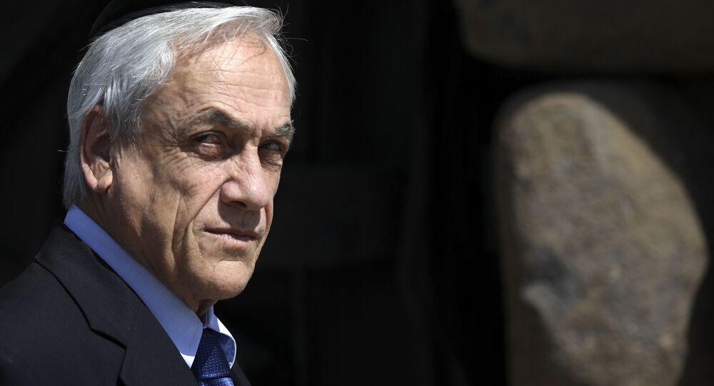 Sebastián Piñera, presidente del Cile