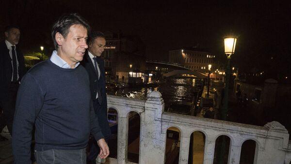 Il presidente del Consiglio Conte a Venezia - Sputnik Italia